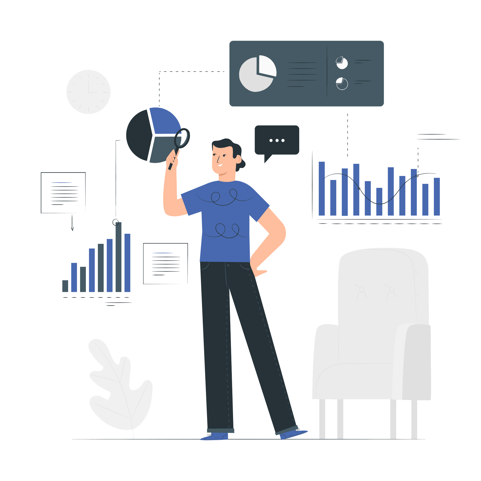 Audience Insights Vector Illustration