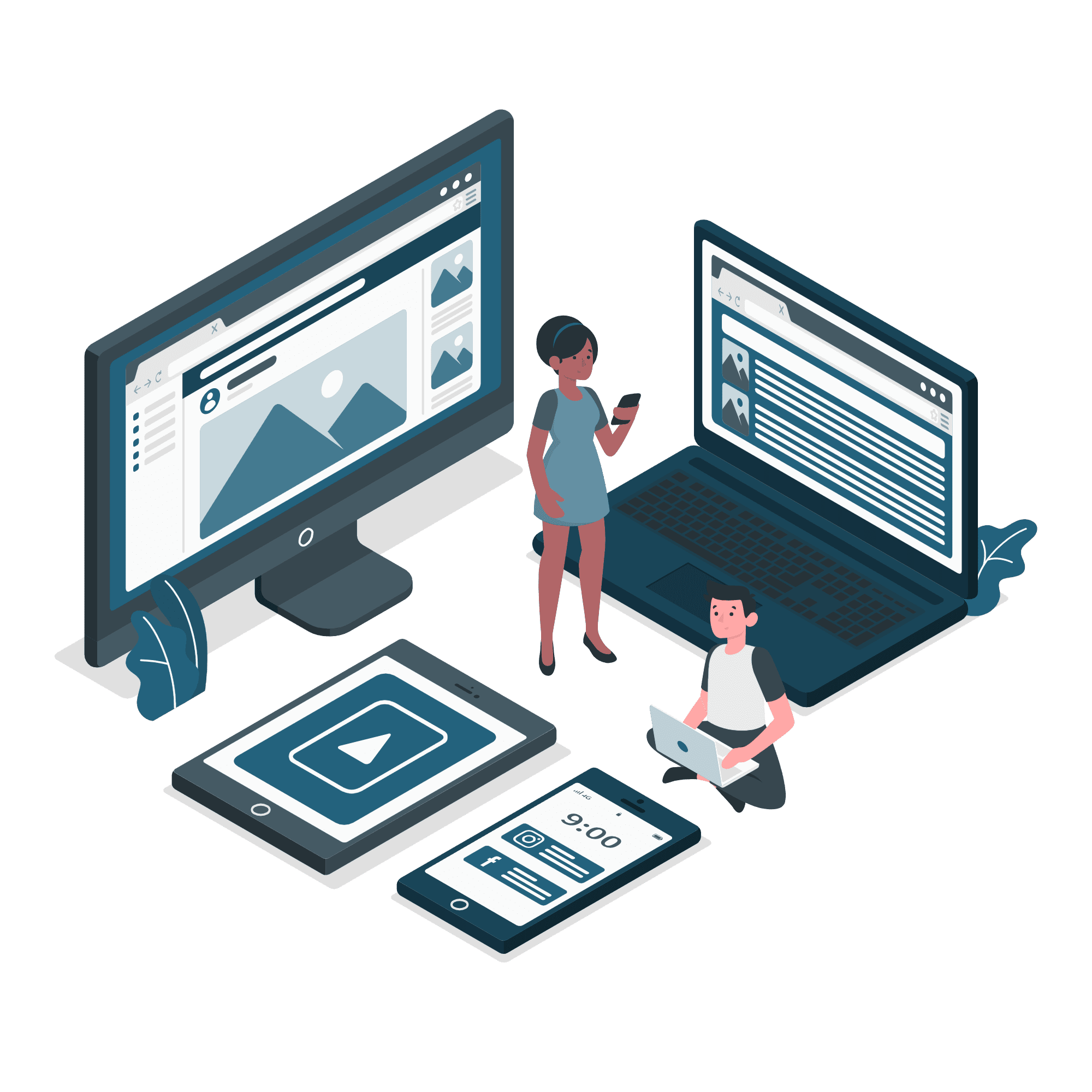Responsive Design Vector illustration